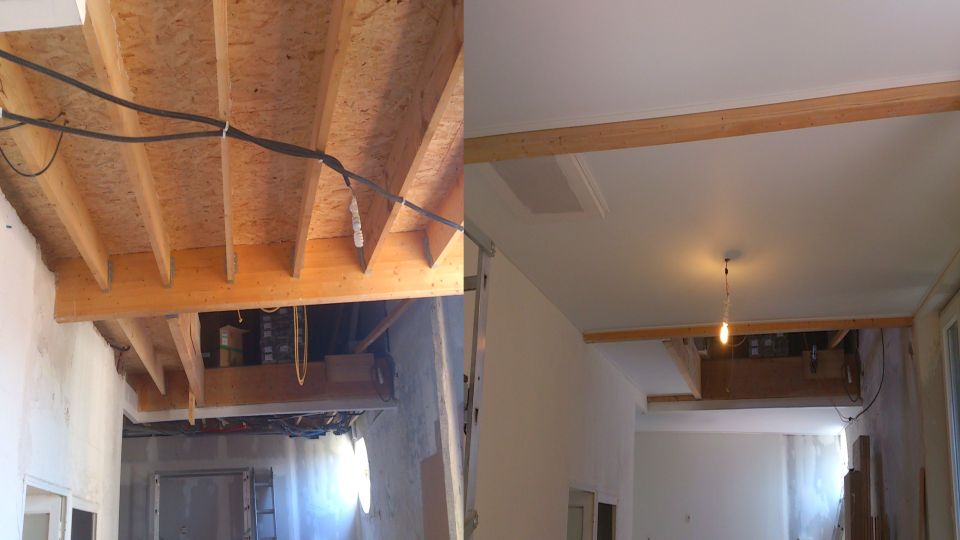 Save money and time and stretch ceiling